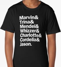 All Falsettos Characters | White Long T-Shirt