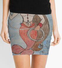 Cowgirl Mermaid Mini Skirt