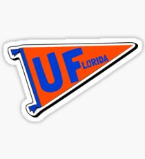 UF Pennant Flag Sticker