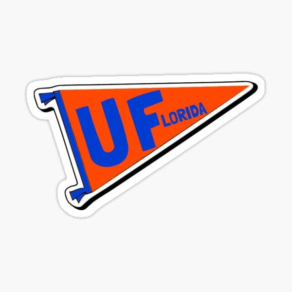 UF Pennant Flag Sticker