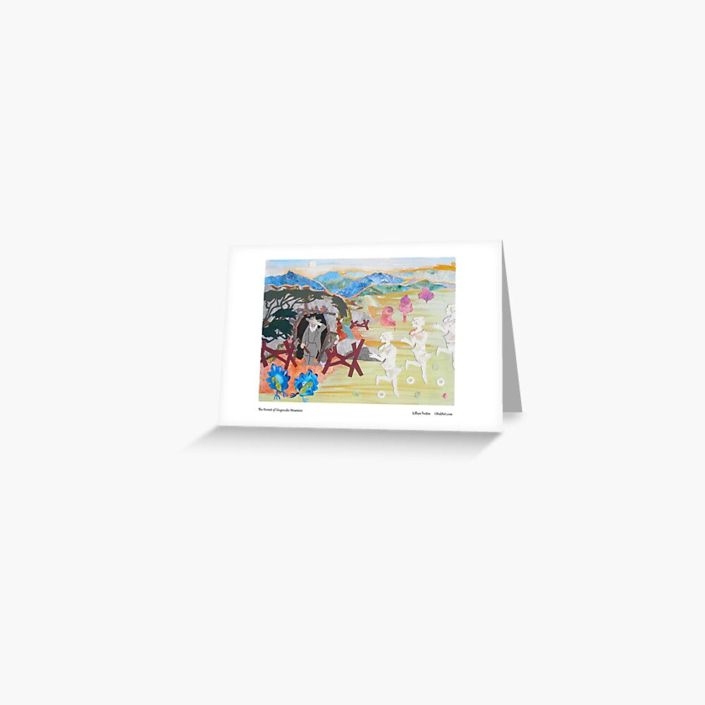 Mountain Hermit Greeting Card