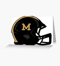 Mizzou Football Helmet Greeting Card