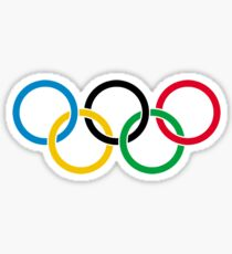 Olympic Rings Sticker
