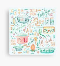 Colorful Pasta Canvas Print