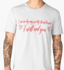 I SWEAR BY MY PRETTY FLORAL BONNET Men's Premium T-Shirt