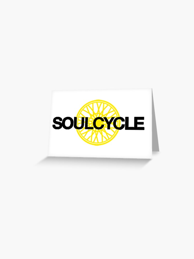 Soulcycle Greeting Card