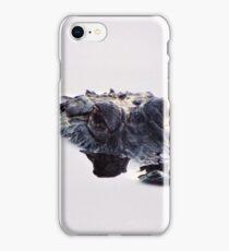 Lonely Alligator iPhone Case/Skin