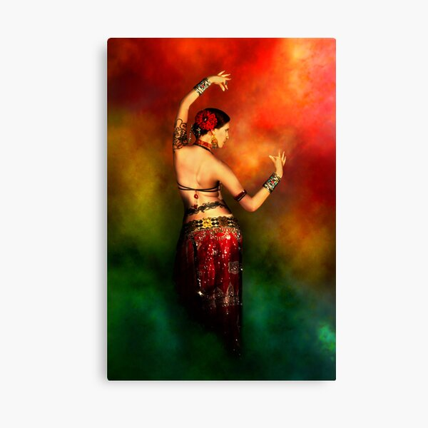 Tattooed Dancer Canvas Print