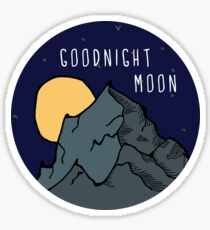 goodnight moon  Sticker
