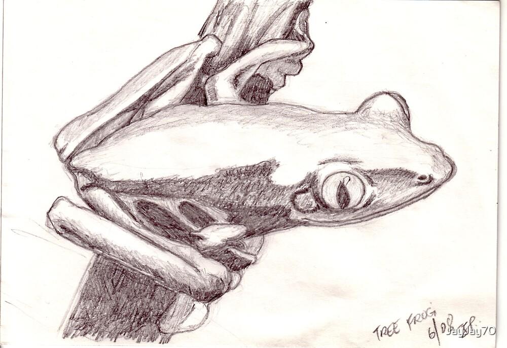 Tree Frog by JayJay70