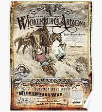 Vintage Travel Poster – Wickenburg, Arizona Poster