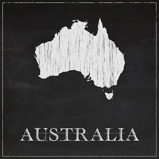 Australia - Chalk by FinlayMcNevin