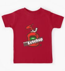 Splatfest 2 Team Ketchup v.2 Kids Clothes
