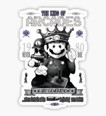 Super Mario Bros - The king of Arcade Sticker