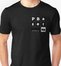 PBaser (small B&W square) Unisex T-Shirt