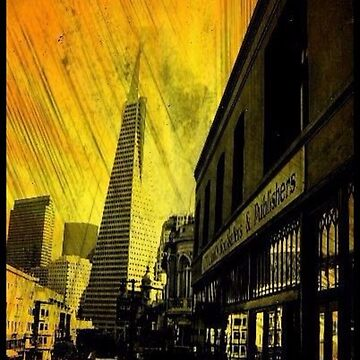 North Beach,San Francisco (Yellow Edit) by RobynLee