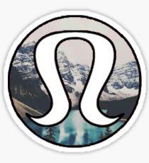 Lululemon Mountains Sticker