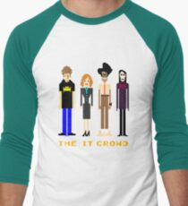 The IT Crowd - Pixels Men's Baseball ¾ T-Shirt