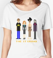 The IT Crowd - Pixels Women's Relaxed Fit T-Shirt