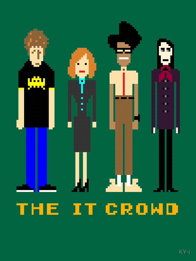 The IT Crowd - Pixels by KY-i