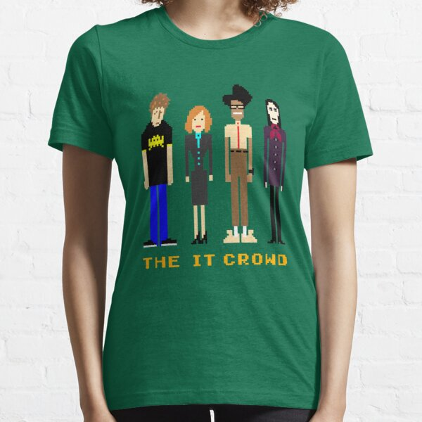 The IT Crowd - Pixels Essential T-Shirt