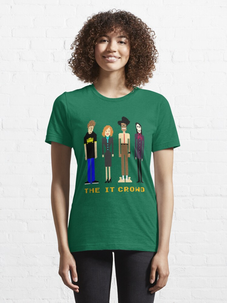 Alternate view of The IT Crowd - Pixels Essential T-Shirt