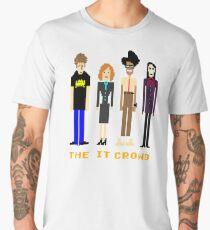 The IT Crowd - Pixels Men's Premium T-Shirt