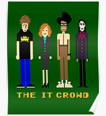 The IT Crowd - Pixels Poster