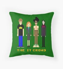 The IT Crowd - Pixels Throw Pillow