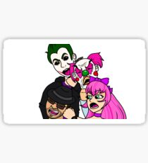 Grand Theft Auto MP Characters  Sticker