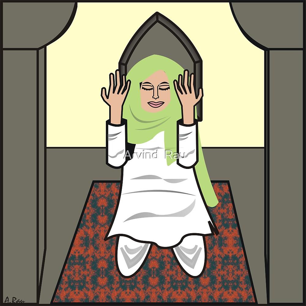 Namaz for Peace by Arvind  Rau