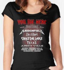 Horror Fest Women's Fitted Scoop T-Shirt
