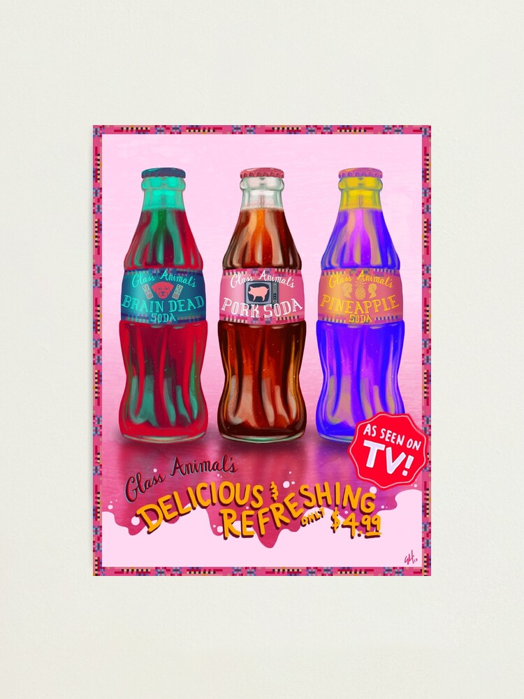 Alternate view of Glass Animal's Pork Soda Photographic Print
