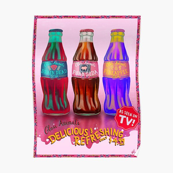 Glass Animal's Pork Soda Poster