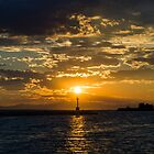 Sun plays the Lighthouse by Vlavo