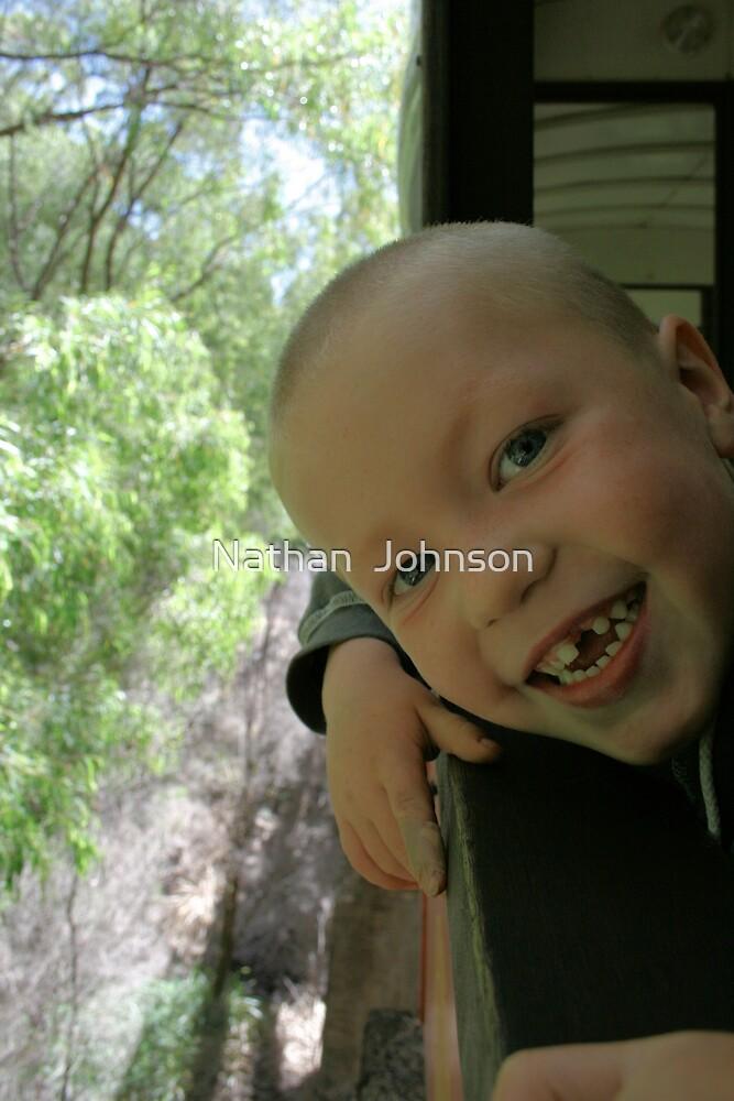 I LOVE TRAINS by Nathan  Johnson