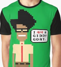 Pixel Moss - The IT Crowd Graphic T-Shirt