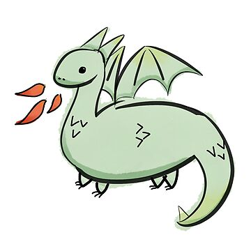 Rawr goes the dragon by hogfish