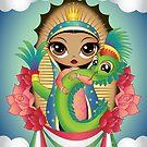 Quetzalcoatl n' Guadalupe by evilkidart