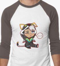 Chibi Voltron Onesie- Shiro w/ White hair Men's Baseball ¾ T-Shirt