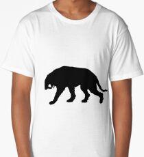 Saber-toothed tiger Long T-Shirt