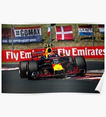 Formula 1 Hungary 2017 Poster