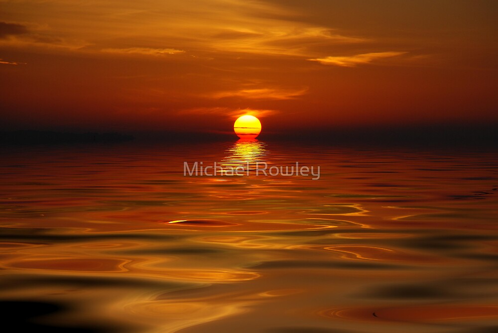 Reflections of the day by Michael Rowley