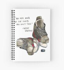 Hockey Spiral Notebook