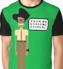 Pixel Moss- The IT Crowd Graphic T-Shirt