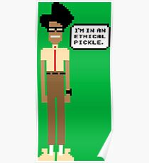 Pixel Moss- The IT Crowd Poster