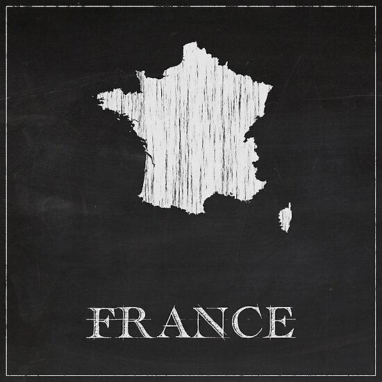 France - Chalk  by FinlayMcNevin