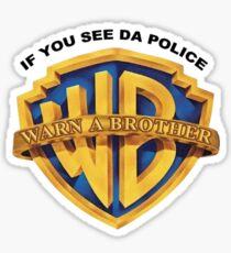 Warner Brothers merchandise Sticker
