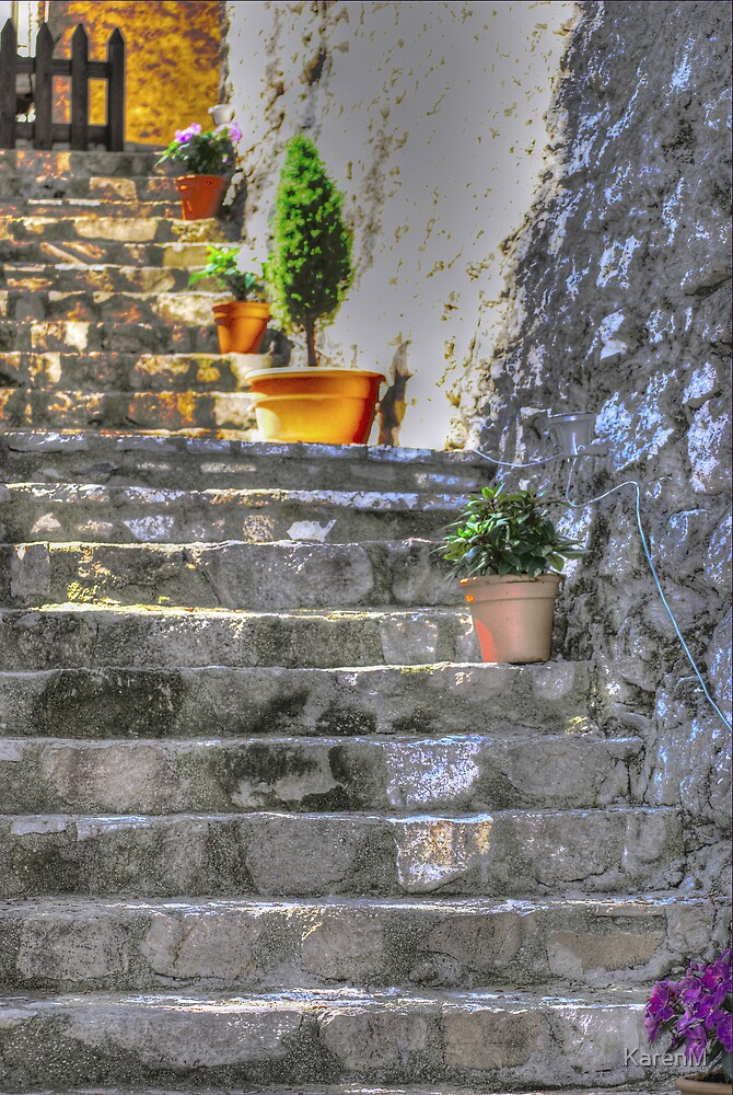 Stone Steps by KarenM