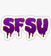 san francisco state university Sticker